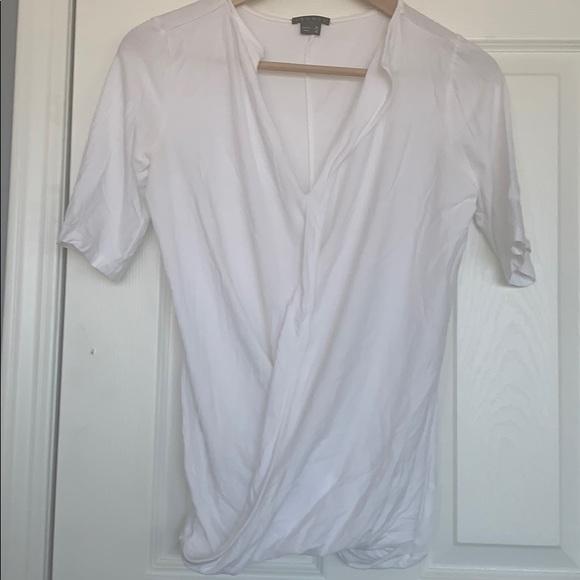 Theory white t-shirt
